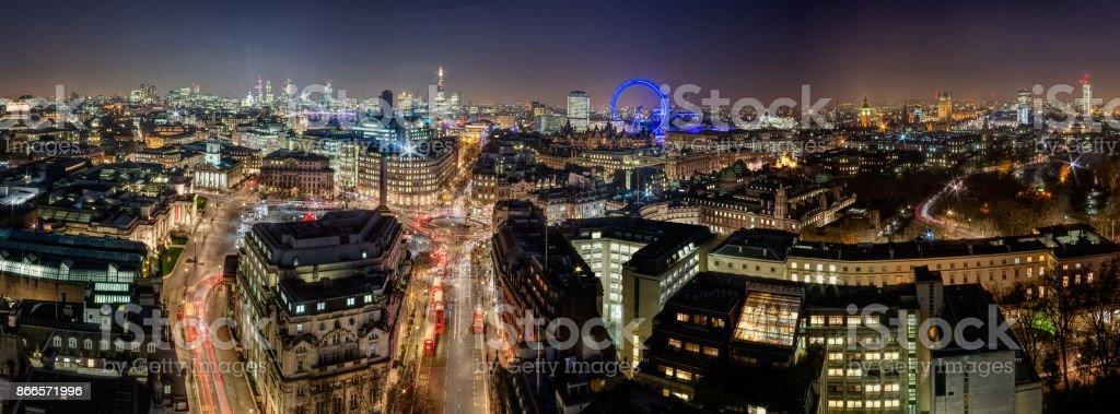 The London Skyline stock photo