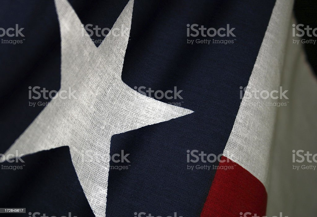 The Lone Star State stock photo