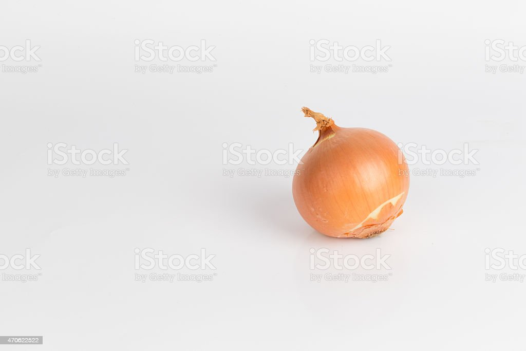 The lonesome Onion stock photo