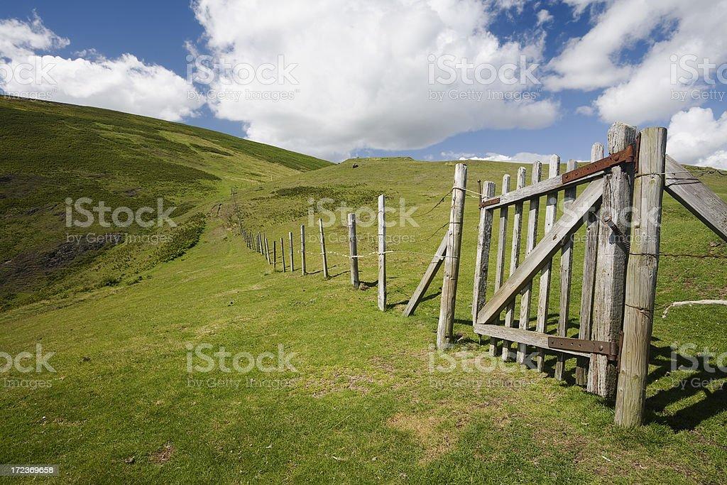 The Long Mynd stock photo