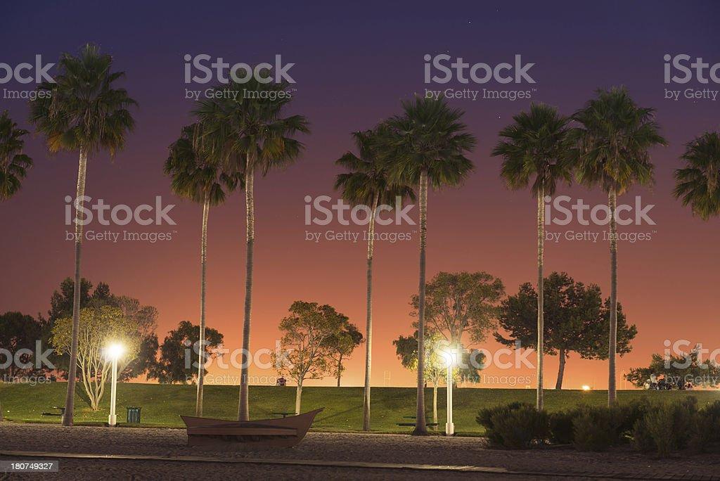 The longbeach lighthouse - california royalty-free stock photo