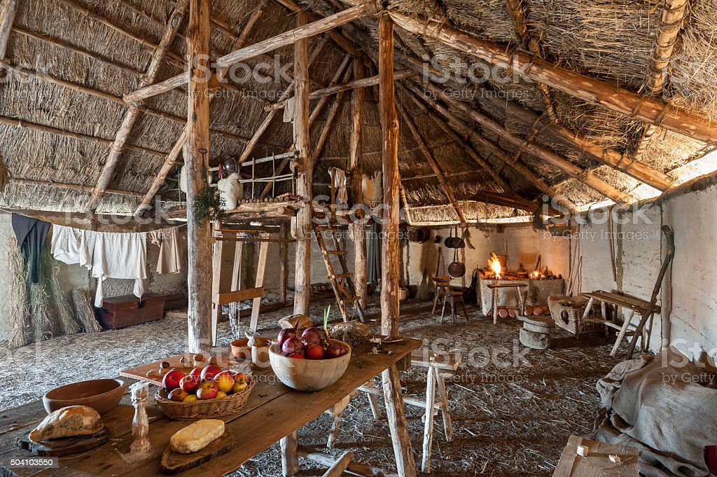 The Longhouse stock photo
