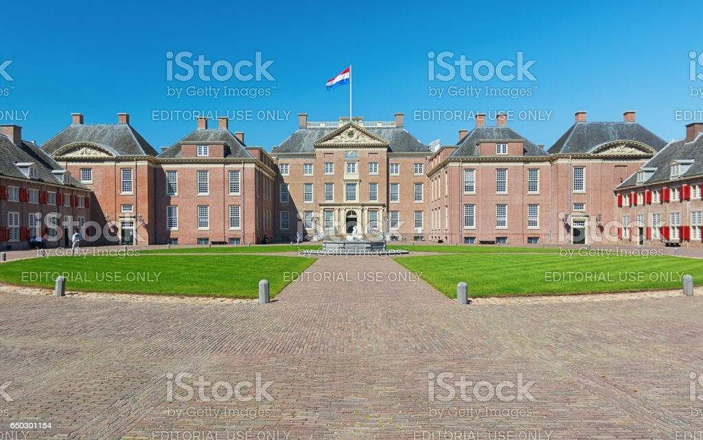 The Loo Palace in the Netherlands stock photo