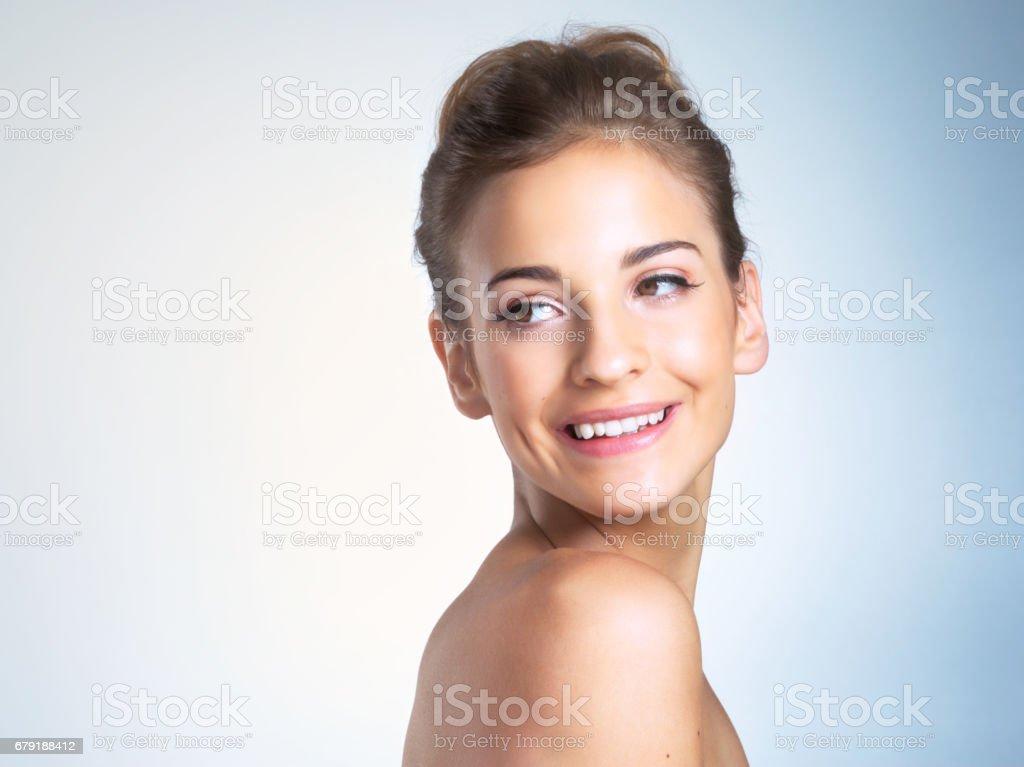 L'apparence de fraîcheur et de beauté photo libre de droits