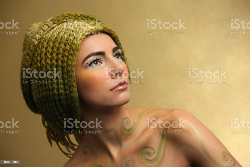 The look royalty-free stock photo