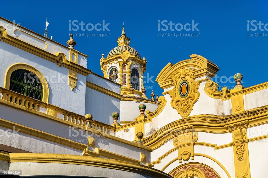 The Lope de Vega Theatre in Seville, Spain stock photo