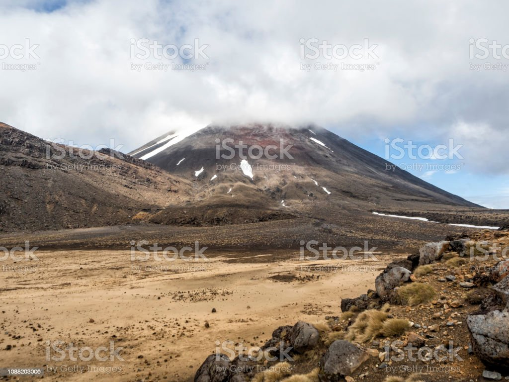 The Lord Of The Rings Mount Doom Movie Set At Tongariro Alpine