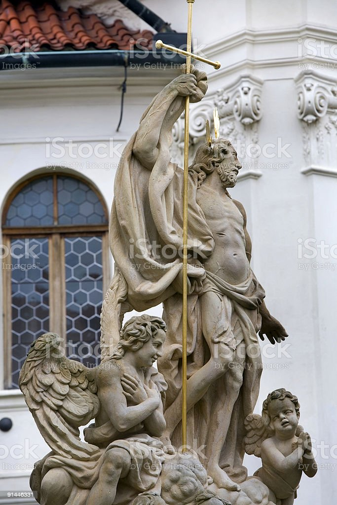 The Loreto Church, Prague, Czech Republic royalty-free stock photo