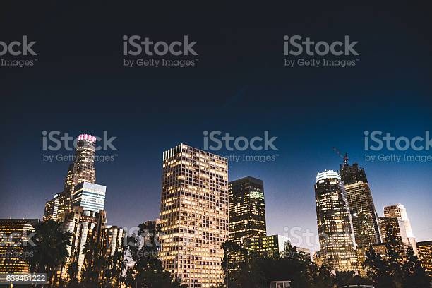 The los angeles downtown skyline on the night picture id639451222?b=1&k=6&m=639451222&s=612x612&h=tngkm0j8k1ljlac3uqewozakmuvybu 84vkj8ythmtu=