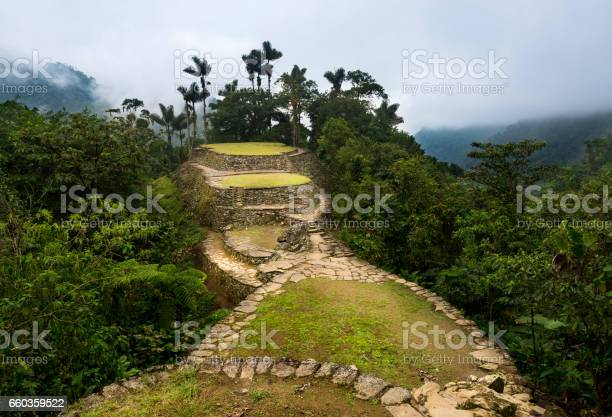 The lost city ruins in the sierra nevada de santa marta picture id660359522?b=1&k=6&m=660359522&s=612x612&h=xaeckcbxalfqktrmlmzzi0p5rcdxjq2mexmgvjccv9c=