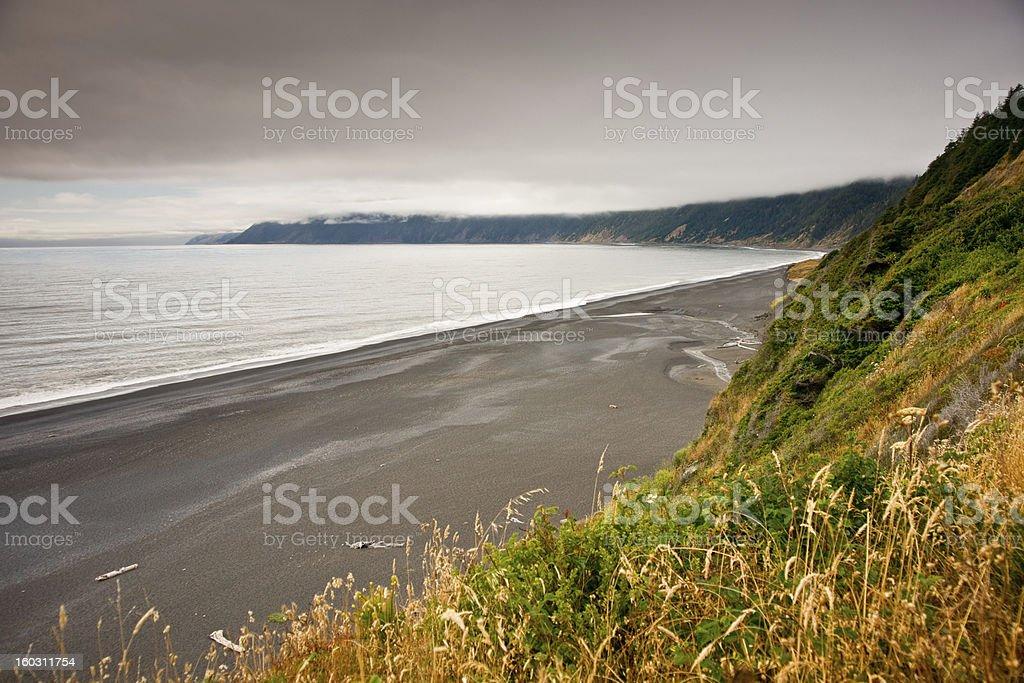 The Lost Coast stock photo