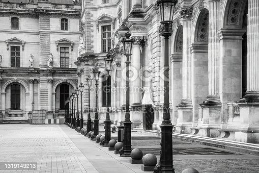istock The Louvre Museum in Paris, France 1319149213