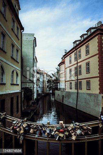 The Love Locks Of Prague, Czech Republic