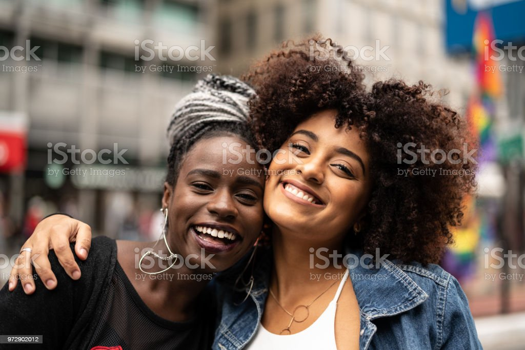 The Love of Best Friends stock photo