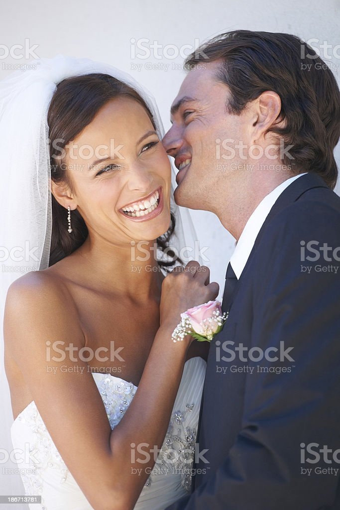 The love of his life royalty-free stock photo