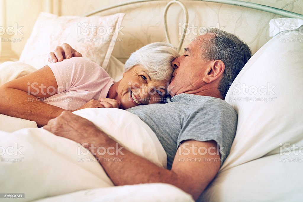 The love that lasted a lifetime stock photo