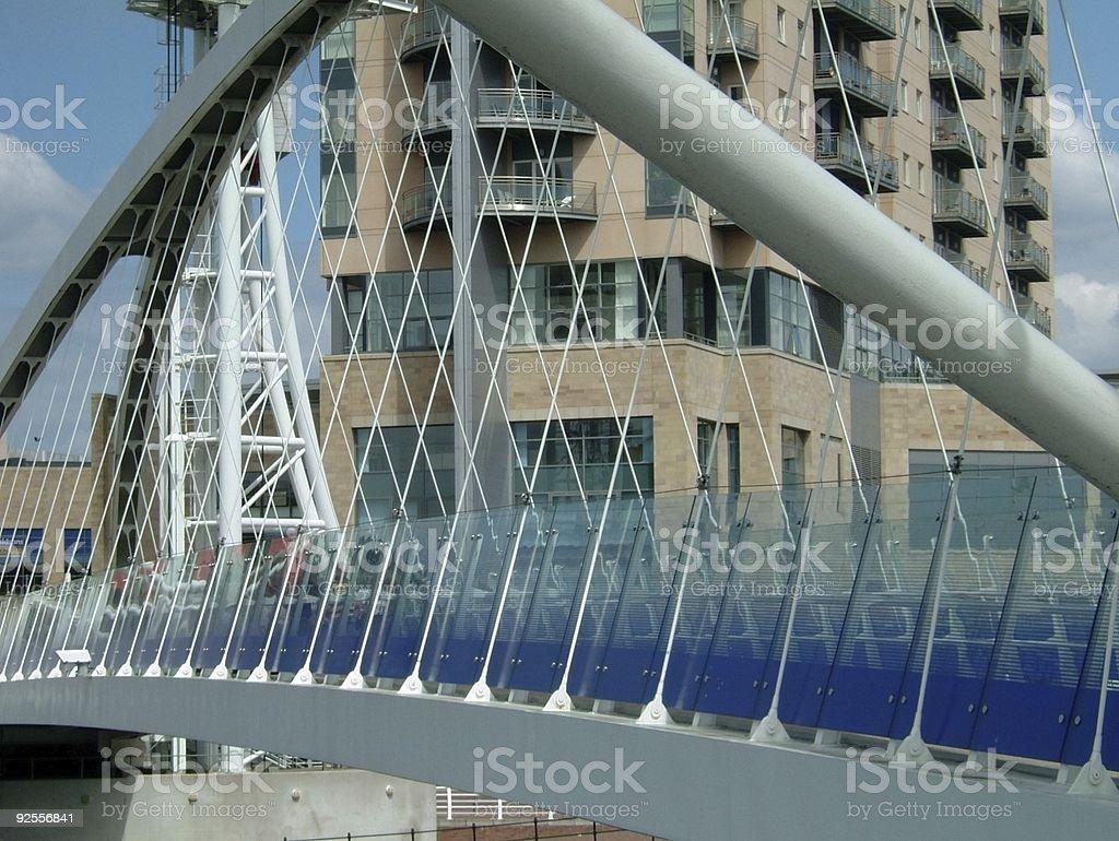 The Lowry Bridge - 1 stock photo