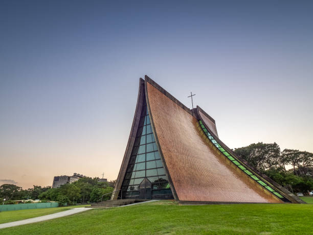 The Luce Memorial Chapel in Taichung City. stock photo