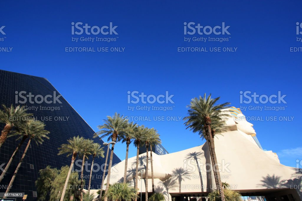 The Luxor Las Vegas, Las Vegas, NV stock photo