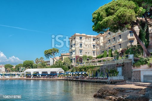 istock The luxury hotel Belle Rives in the French beach resort Juan-les-Pins 1082419790
