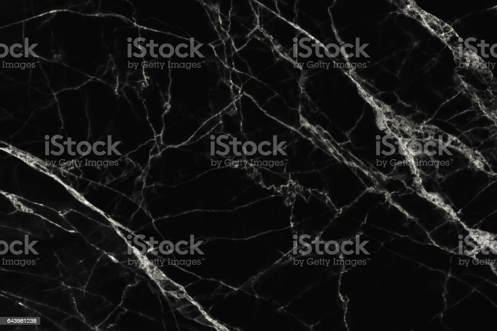 The luxury of black marble texture and background. stock photo