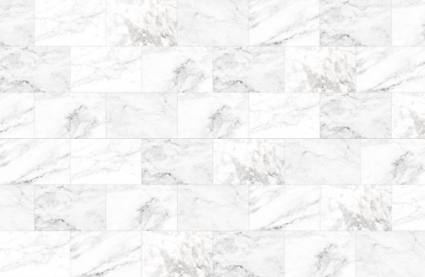 der luxus der weißen marmorfliesen textur und hintergrund. - fliesenboden stock-fotos und bilder