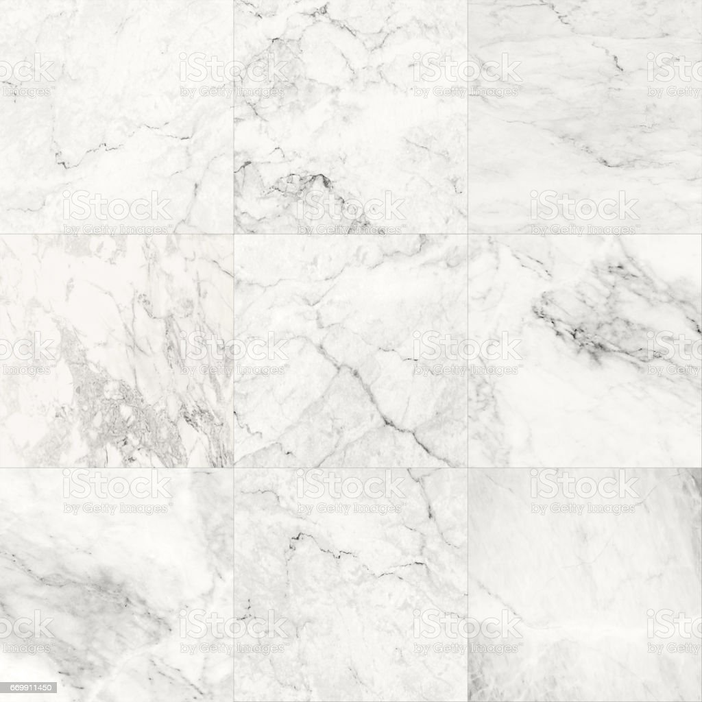 The Luxury Of White Marble Tiles Texture And Background