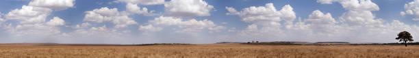 The Maasai Mara National Reserve is a vast game reserve in Kenya stock photo