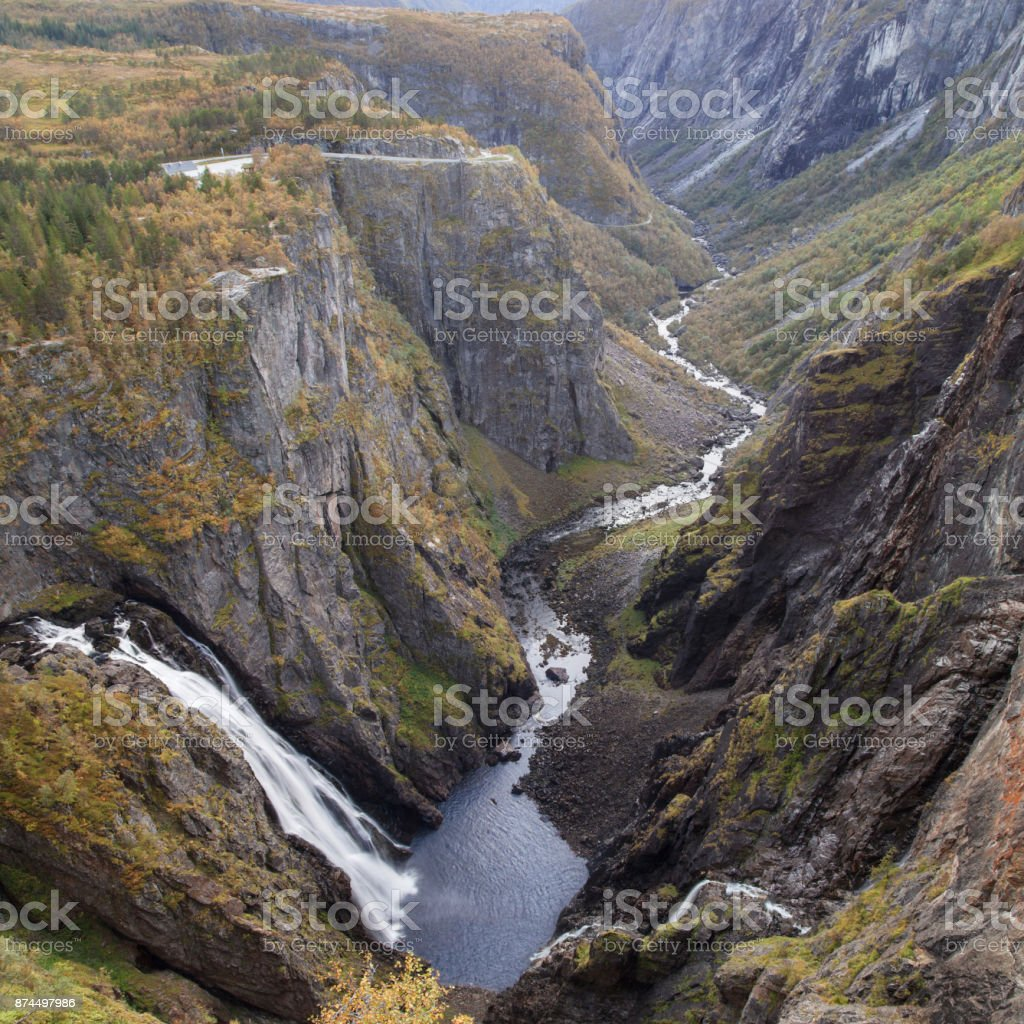 The Mabodalen Valley stock photo