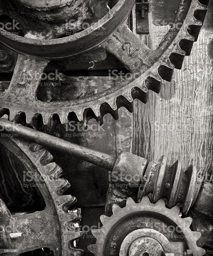The Machine royalty-free stock photo