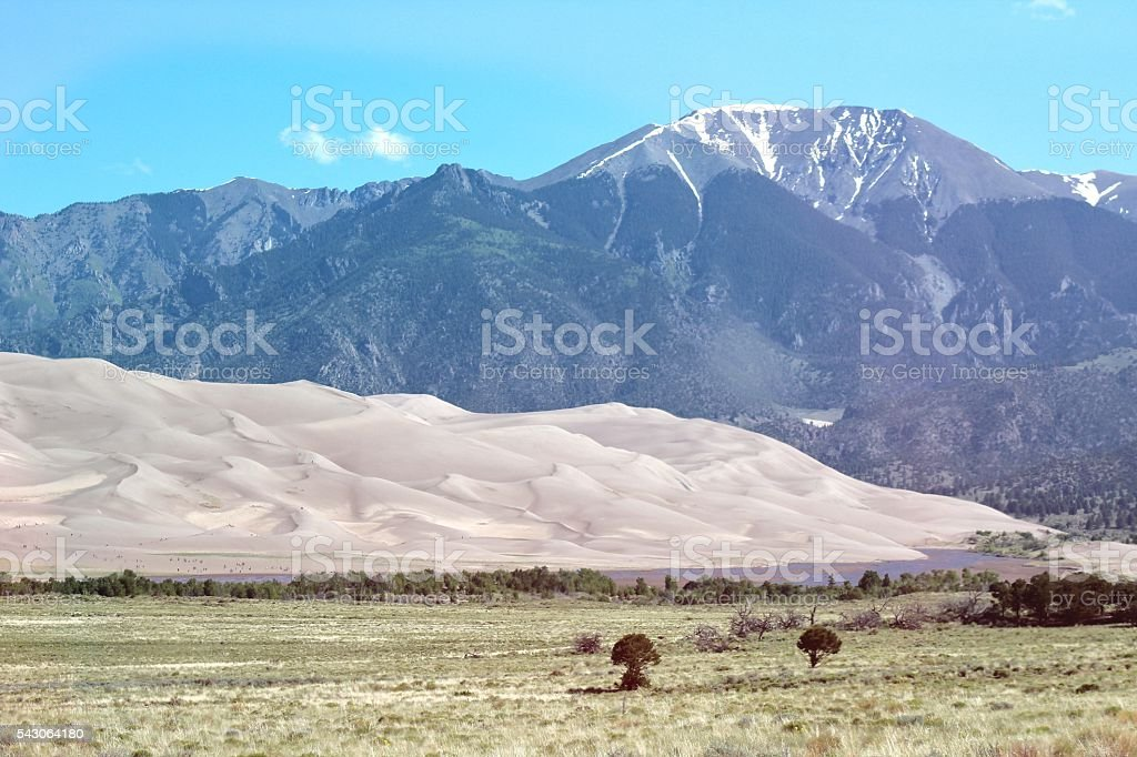 The Magical Dunes stock photo