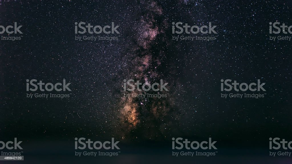 The Magnificent Milky Way stock photo