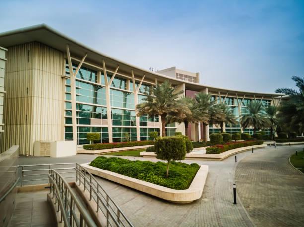 The main building of Alfaisal University stock photo