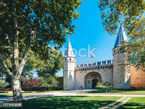 Topkapi Palace, Castle, Istanbul, Istanbul Province, Turkey - Middle East