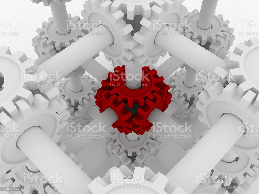 The main link stock photo