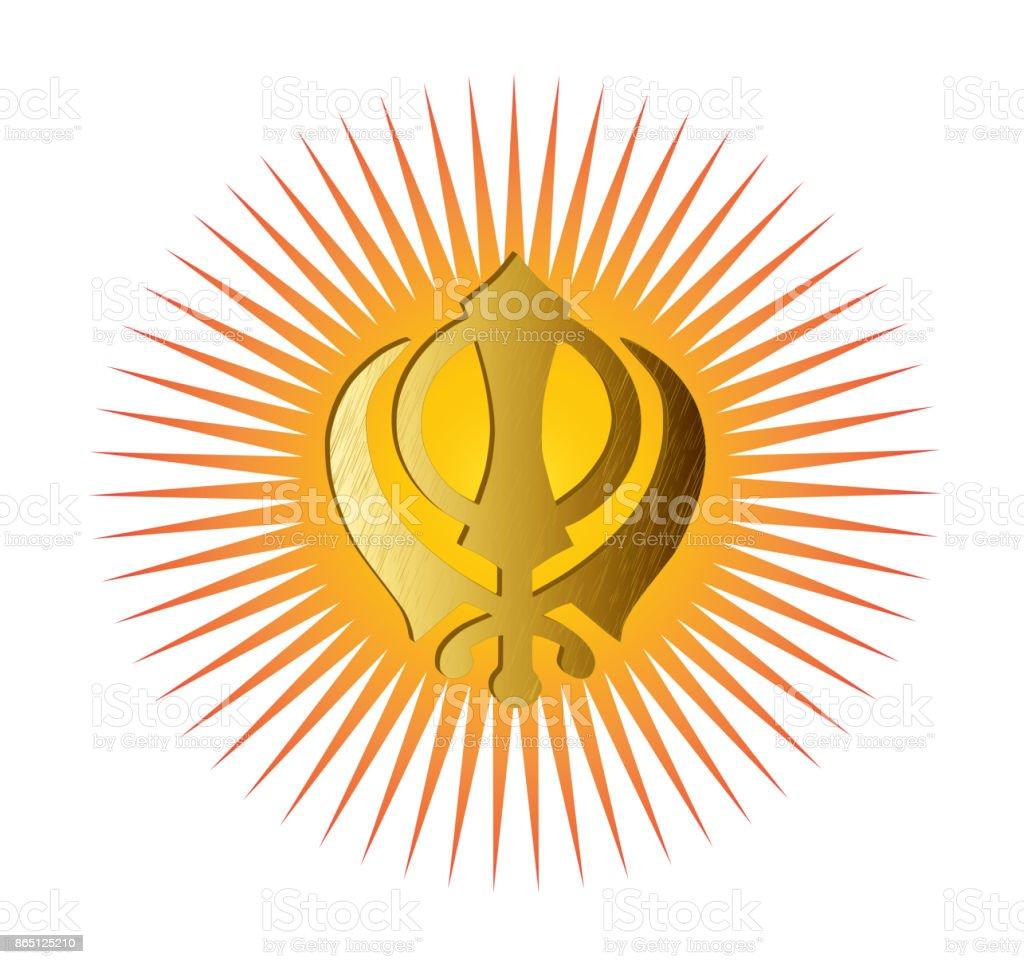 The main symbol of sikhism sign khanda stock photo more pictures the main symbol of sikhism sign khanda royalty free stock photo biocorpaavc