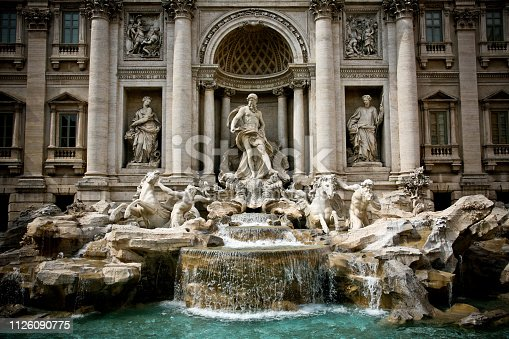 through one of the most beautiful and ancient cities in the world. Fontana di Trevi