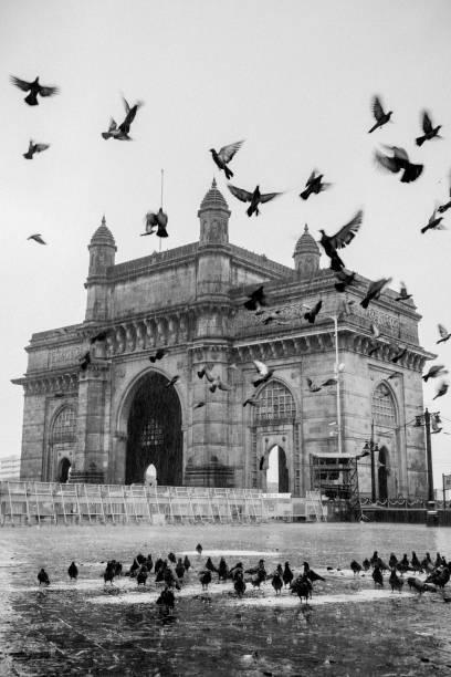 The Majestic Gateway of India, Mumbai stock photo