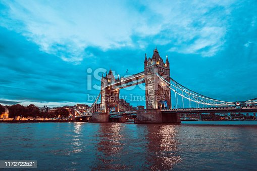 The Majestic Tower Bridge In London, United Kingdom