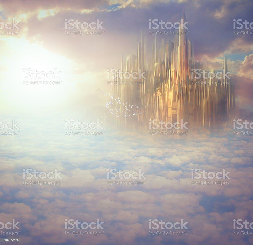 The majesty and wonder of Heaven royalty-free stock photo