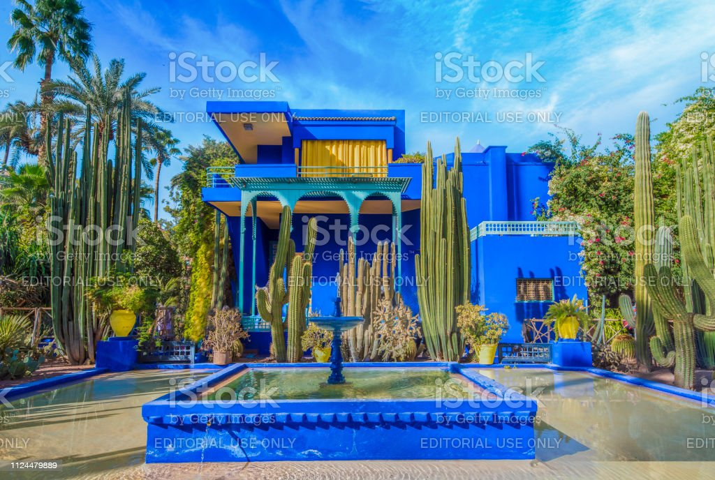 Le Jardin Majorelle Marrakech Stock Photo Download Image Now Istock