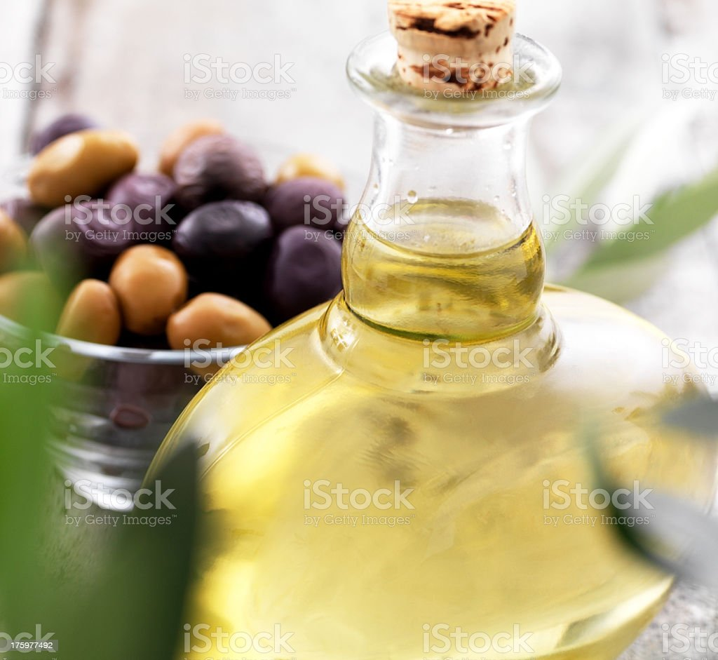 The makings of a Mediterranean feast royalty-free stock photo