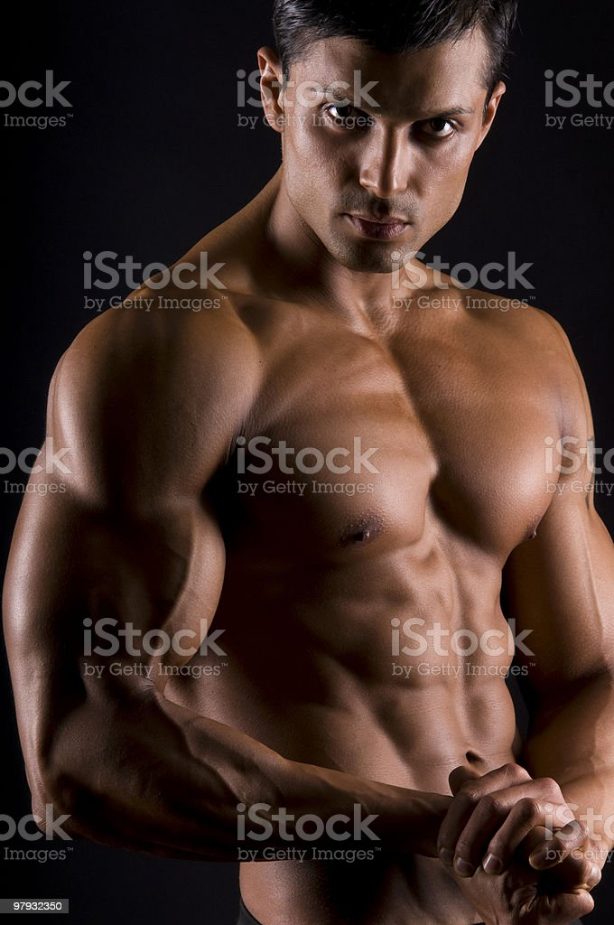The male beauty. royalty-free stock photo