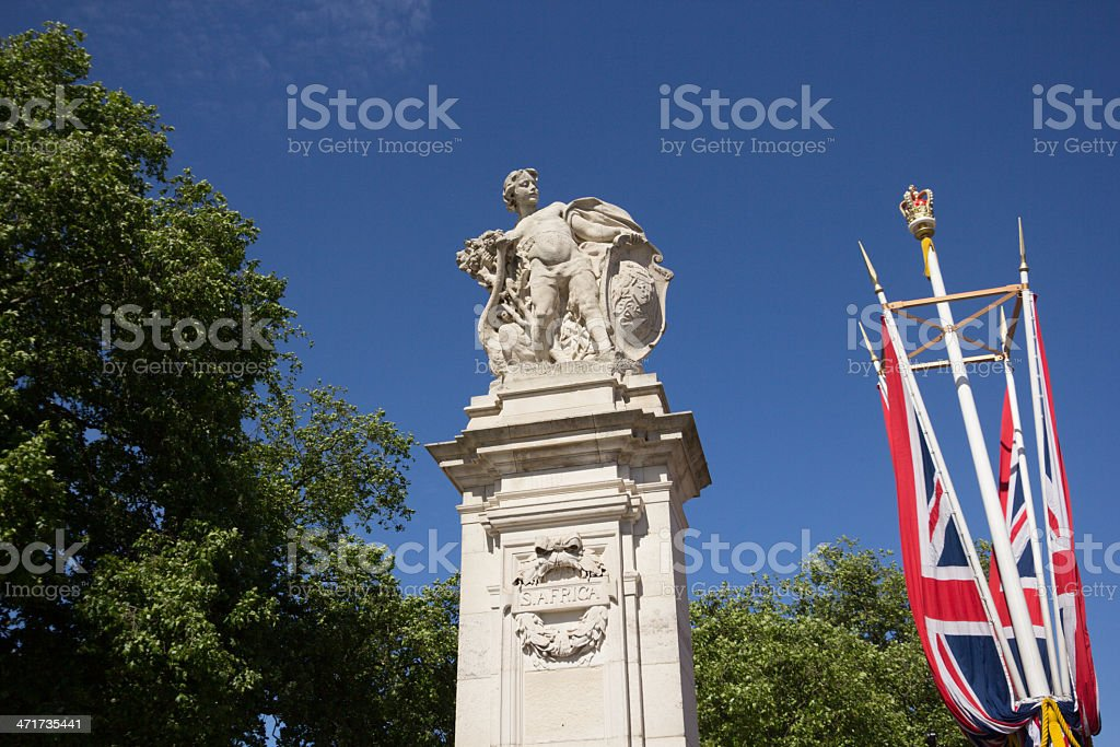 The Mall in London, England royalty-free stock photo