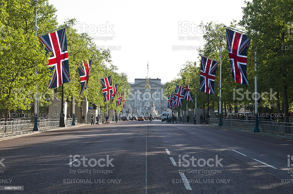 The Mall royalty-free stock photo