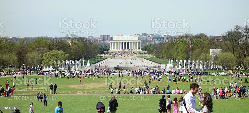 The Mall stock photo