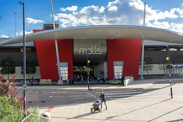 The Malls shopping in Basingstoke stock photo