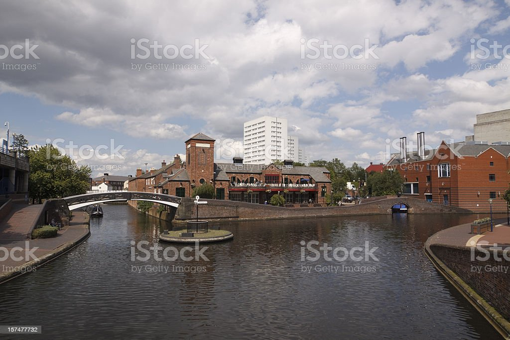 The Malt house in Birmingham royalty-free stock photo