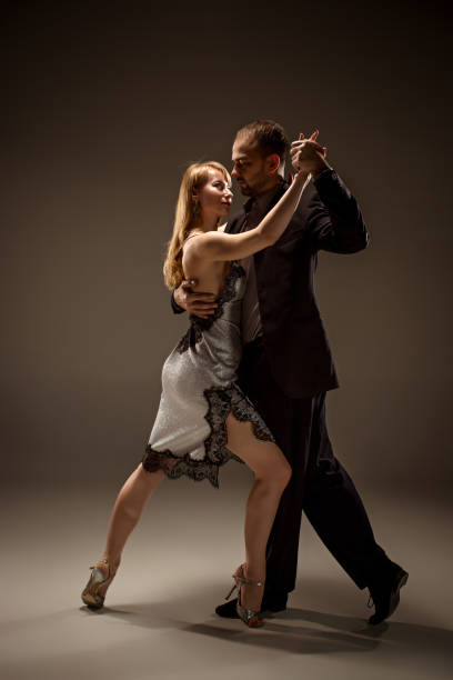 Best Dancing Couple Contemporary Dance Studio Stock Photos, Pictures