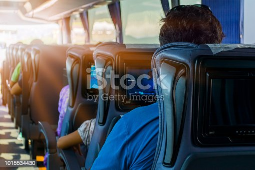 Bus, Coach Bus, Tour Bus, Television Set, Window